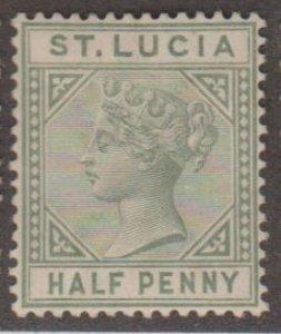 St. Lucia Scott #27 Stamp - Mint Single