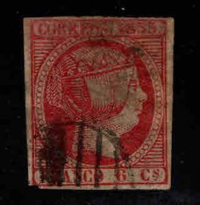 SPAIN Scott 19 Queen Isabella II 1853