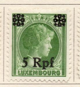 Luxembourg 1940 German Occ. Issue Fine Mint Hinged 5Rpf. Surcharged 241646
