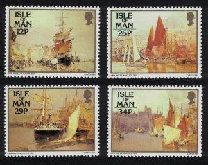 Isle of Man Paintings by John Nicholson 4v SG#340-343