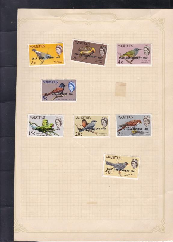 mauritius stamps page ref 18024