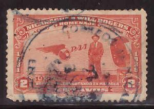 Nicaragua Scott C237 Used airmail
