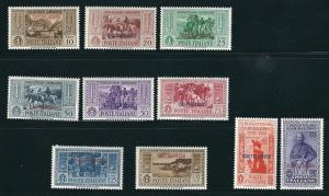 Castellorizo 80-89 Sas 30-39 MNH F/VF 1923 SCV $625.00