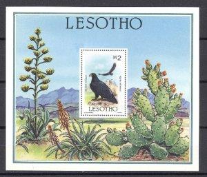 LESOTHO EAGLE #520..SOUV. SHEET...MNH...$10.00