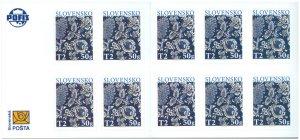 SLOVAKIA/2020 - (Booklet) Easter 2020: The Traditional Slovak Blueprint, MNH