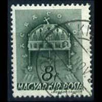 HUNGARY 1941 - Scott# 582 Crown 8f Used
