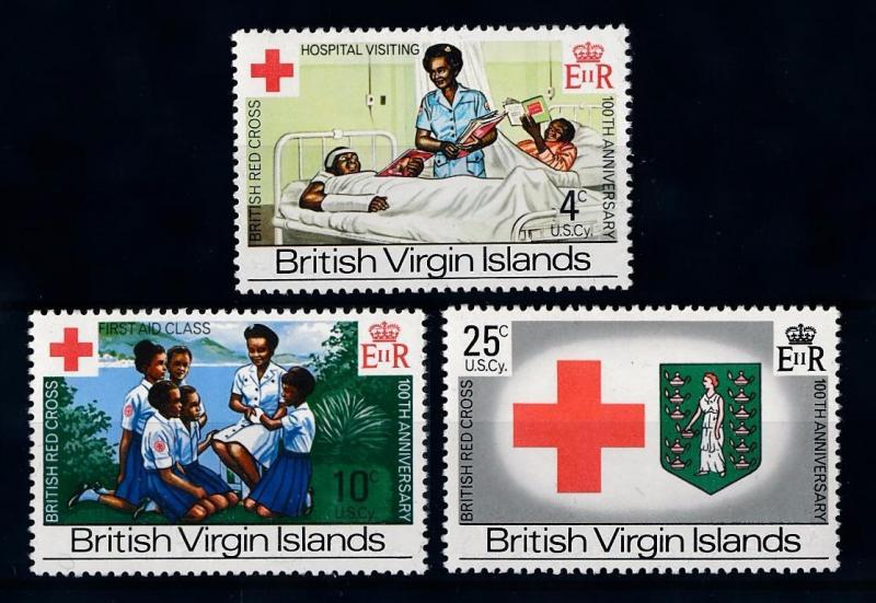 [71286] British Virgin Islands 1970 Red Cross Hospital  MNH