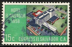 El Salvador 1958 Scott# 700 Used