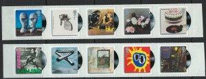 Great Britain Scott 2738a-2743a  MNH! Music Albums!