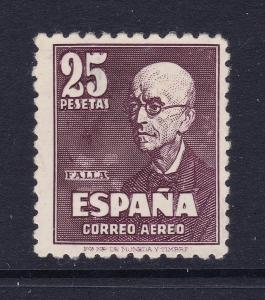 Spain a 1947 50p Air stamp MNG