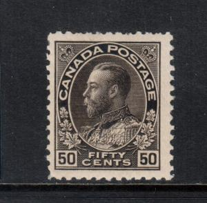 Canada #120ii Very Fine Never Hinged Perfs Are A Bit Blunt At Top