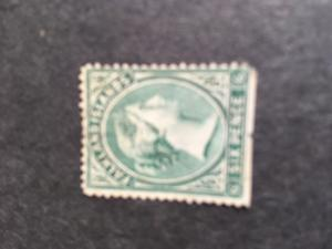 Falkland Is. 2016 Scott #3 Mint Cat. $110. 1878 Six Pence Unwmk. No Gum SE  Fine