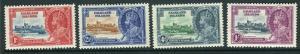 FALKLAND ISLANDS-1935 Silver Jubilee.  A mounted mint set Sg 139-142
