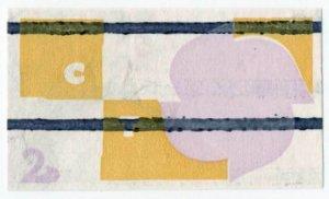 (I.B) Elizabeth II Postal : CEPT 2d (SG 626) printer's cancelled waste