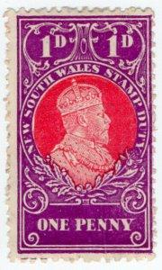 (I.B) Australia - NSW Revenue : Stamp Duty 1d (1914)