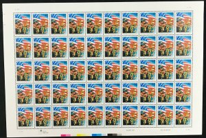 3153     Stars and Stripes Forever    MNH 32¢ sheet of 50     Issued in 1997