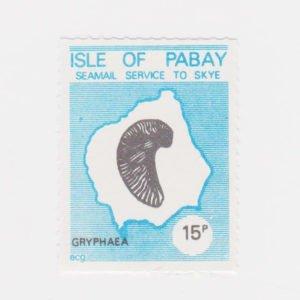 PABAY, British Local - 1981 - Gryphaea  - Perf MNH Single Stamp