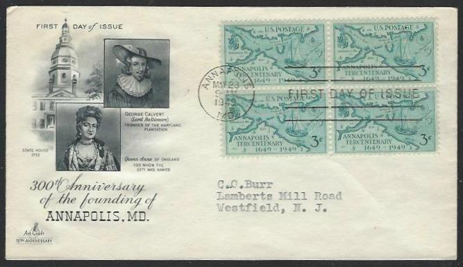 USA #984 First Day Cover