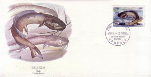 Uganda FDC SC# 435 Clarias Lazera Catfish L372