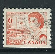Canada  SG 601     Fine Used  imperf bottom