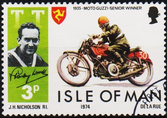 Isle of Man. 1974 3p S.G.46 Fine Used