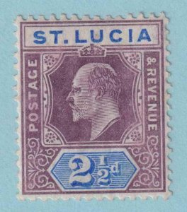 ST LUCIA 52a  MINT HINGED OG * NO FAULTS EXTRA FINE!