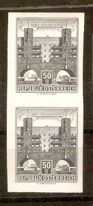Austria Buildings 50g imperf