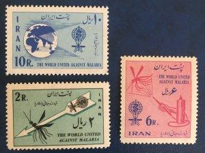 Middle East, P1962  MNH **  Malaria Eradication , Shah,