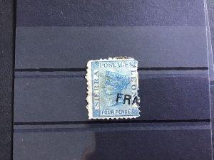 Sierra Leone  Vintage Reprint Forgery stamp R30831