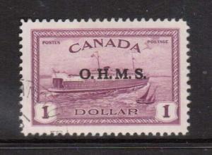 Canada #O10 XF Used