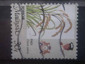 KEDAH, 1986, used 30c, Agriculture Scott 196