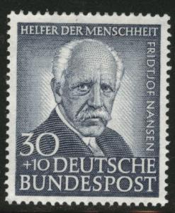 Germany Scott B327 MH* 1953 Nansen stamp CV$20