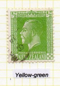 New Zealand 1915-33 George V Issue Fine Used 1/2d. 041191