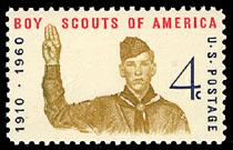 1145 Boy Scouts of America F-VF MNH single