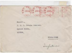 Brazil 1939  stamp cover Ref 9020