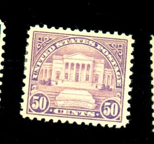 570 MINT F-VF OG LH Cat $33