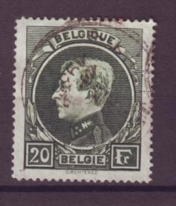 J21298 Jlstamps 1929 belgium hv of set used #213, king