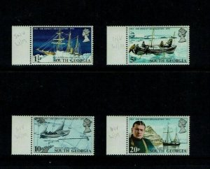 South Georgia: 50th Anniversary of Shackleton' Expedition, Inverted Watermarks.