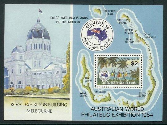 Cocos Is - 1984 Ausipex International Stamp Exhibition (MNH)