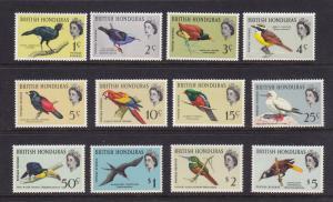 Br. Honduras Scott #167-178 VF OG lightly hinged nice color cv $ 86 ! see pic !