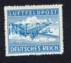 Germany Deutsches Reich 1945 Inselpost Leros MNH #11B tested