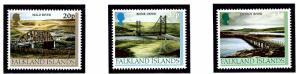 Falkland Is 768-70 MNH 2000 Bridges
