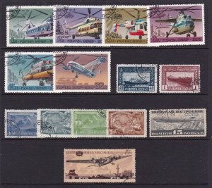 Russia a small lot earlies + a modern set used