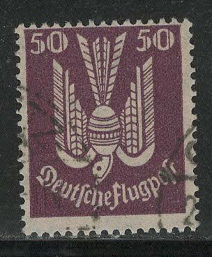 Germany Reich Scott # C5, used, exp h/s