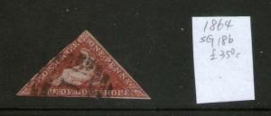 South Africa Cape of Good Hope 1864 SG 18b FU