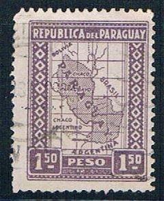 Paraguay Map 15 - pickastamp (PP9R304)