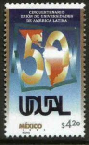 MEXICO 2160, Union of Latin American Universities. MINT, NH. VF. (69)