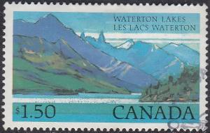 Canada 935 USED 1982 National Park Definitives $1.50