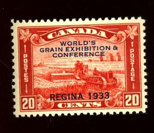 Canada #203 MINT F-VF OG NH Cat $80