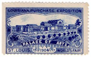(I.B) US Cinderella : Louisiana Purchase Exposition (Palace of Arts)